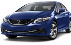 2015 Honda Civic Gas Mileage: 45-MPG Hybrid, 33-MPG Regular Models Unchanged