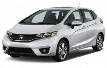 2015 Honda Fit 5dr HB CVT LX Angular Front Exterior View
