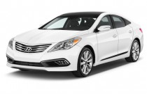2015 Hyundai Azera 4-door Sedan Limited Angular Front Exterior View