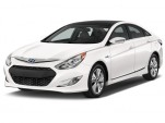 2015 Hyundai Sonata Hybrid 4-door Sedan Limited Angular Front Exterior View