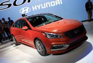 2015 Hyundai Sonata: Redesigned Sedan Debuts In New York (Photos)