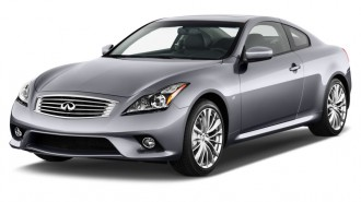 2015 Infiniti Q60 Coupe 2-door Auto AWD Angular Front Exterior View