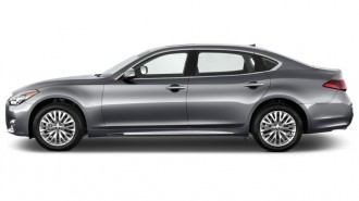 2015 Infiniti Q70L 4-door Sedan V6 RWD Side Exterior View