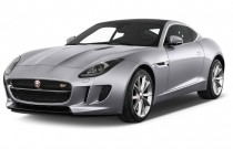 2015 Jaguar F-Type 2-door Coupe V6 S Angular Front Exterior View