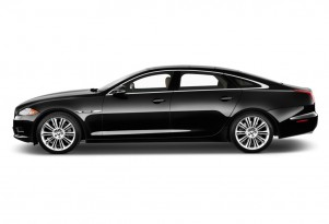 2015 Jaguar XJ 4-door Sedan XJL Supercharged RWD Side Exterior View