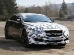 2016 Jaguar XJR facelift spy shots - Image via S. Baldauf/SB-Medien