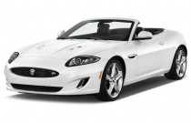2015 Jaguar XK 2-door Convertible XKR Angular Front Exterior View
