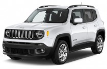 2015 Jeep Renegade FWD 4-door Latitude Angular Front Exterior View