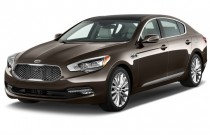 2015 Kia K900 4-door Sedan Angular Front Exterior View