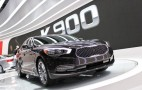 2015 Kia K900 Flagship Sedan Debuts At 2013 L.A. Auto Show: Live Photos