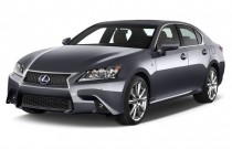 2015 Lexus GS 350 4-door Sedan RWD Angular Front Exterior View