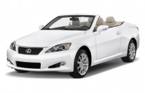 2015 Lexus IS 250C 2-door Convertible Angular Front Exterior View