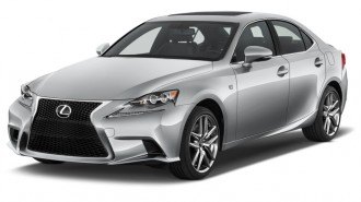 2015 Lexus IS 350 4-door Sedan RWD Angular Front Exterior View