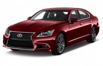 2015 Lexus LS 460 4-door Sedan RWD Angular Front Exterior View