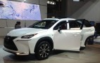 Surprise NY Auto Show Appearance: New 2015 Lexus NX Crossover
