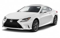 2015 Lexus RC 350 2-door Coupe AWD Angular Front Exterior View