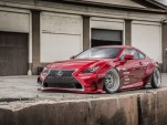 2015 Lexus RC 350 by Gordon Ting and Beyond Marketing, 2014 SEMA show