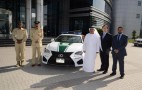 Lexus RC F Added To Dubai Police Fleet