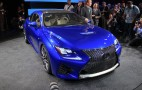 2015 Lexus RC F Coupe: Full Details, Live Photos And Video From Debut