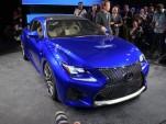 2015 Lexus RC F live photos, 2014 Detroit Auto Show
