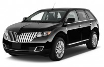 2015 Lincoln MKX FWD 4-door Angular Front Exterior View