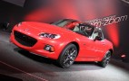 2015 Mazda MX-5 Miata 25th Anniversary Edition Debuts In New York: Live Photos