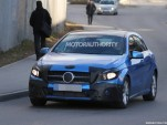 2016 Mercedes-Benz A-Class facelift spy shots - Image via S. Baldauf/SB-Medien