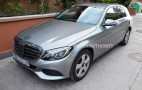 2015 Mercedes-Benz C-Class Wagon Spy Shots