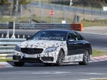 2015 Mercedes-Benz C63 AMG spy shots