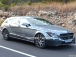 2015 Mercedes-Benz CLS Shooting Brake facelift spy shots