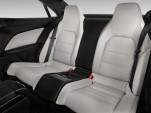 2015 Mercedes-Benz E Class 2-door Coupe E400 RWD Rear Seats