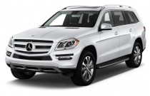 2015 Mercedes-Benz GL Class 4MATIC 4-door GL450 Angular Front Exterior View