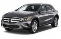 2015 Mercedes-Benz GLA Class 4MATIC 4-door GLA250 Angular Front Exterior View