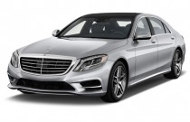 2015 Mercedes-Benz S Class 4-door Sedan S550 RWD Angular Front Exterior View