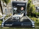 2015 Mercedes-Benz S63 AMG Coupe at the Cannes Film Festival