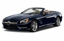 2015 Mercedes-Benz SL Class 2-door Roadster SL400 Angular Front Exterior View