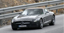 2015 Mercedes-Benz SLS AMG GT Roadster spy shots