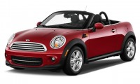 2015 MINI Cooper Roadster 2-door Angular Front Exterior View
