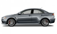 2015 Mitsubishi Lancer Evolution / Ralliart 4-door Sedan TC-SST MR Side Exterior View