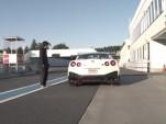 2015 Nissan GT- R NISMO at Sodegaura Forest Raceway
