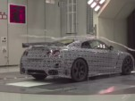 2015 Nissan GT-R NISMO prototype in the wind tunnel