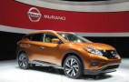 2015 Nissan Murano Live Photos: 2014 New York Auto Show