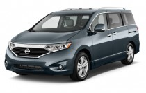 2015 Nissan Quest 4-door Platinum Angular Front Exterior View