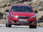 2015 Peugeot 308 GTI spy shots