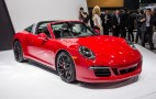 2015 Porsche 911 Targa 4 GTS Opens Up In Detroit: Live Photos & Video