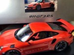 2015 Porsche 911 GT3 RS scale model (Image via Autogespot)
