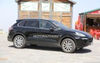 2015 Porsche Cayenne Spy Video