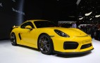 2016 Porsche Cayman GT4 At The 2015 Geneva Motor Show: Video, Live Photos