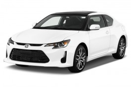 2015 Scion tC 2-door HB Auto (Natl) Angular Front Exterior View