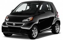 2015 Smart fortwo 2-door Coupe Passion Angular Front Exterior View